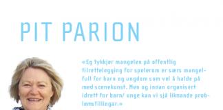 Pit Parion kommentar nr 6 2014 av Torill Sperre