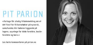 Simone Stibbe er forleggar og forlagssjef i SKALD foto: Tove K. Breistein