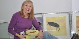 LANG KARRIERE: Inger Lise Belsvik jubilerer som illustratør. 14. januar stiller ho ut mange av teikningane sine i Sandnes i Rogaland.