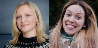 Maria Parr (venstre) og Ingunn Thon er blant dei fem nominerte til Arks barnebokpris 2017. Foto: Agnete Brun / Samlaget, Andrea Rygg Nøttveit