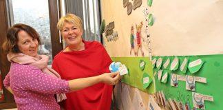 Irene Yksnøy Lianes og seksjonsleiar barnehage, Reidun Mo, har laga ein treårig årsplan for utviklingsarbeidet som er nedfelt i den lokale rammeplanen for Ørstabarnehagane. Foto: Janne-Marit Myklebust, Møre-Nytt