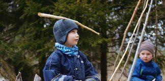 Bilde frå filmen «Barndom» av Margreth Olin som følgjer born i ein Steinerbarnehage som får gå i barnehagen eitt år ekstra. Foto: Speranza film