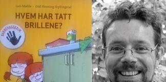 Lars Mæhle kjem i år ut med ein heil serie med morosamme krimbøker for og frå barnehagen.