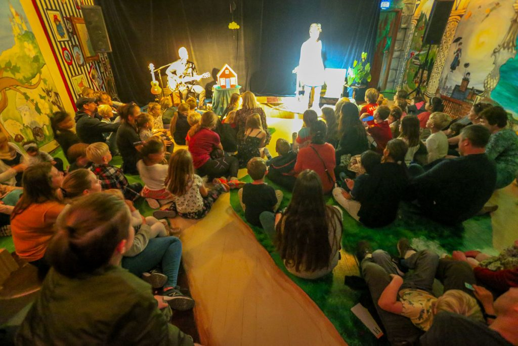 Frå Nynorske barnebokfest i Førde. Foto: Alf Vidar Snæland